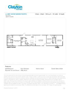 Clayton Hidden Pantry 16X80 Floor Plan pdf 1 232x300