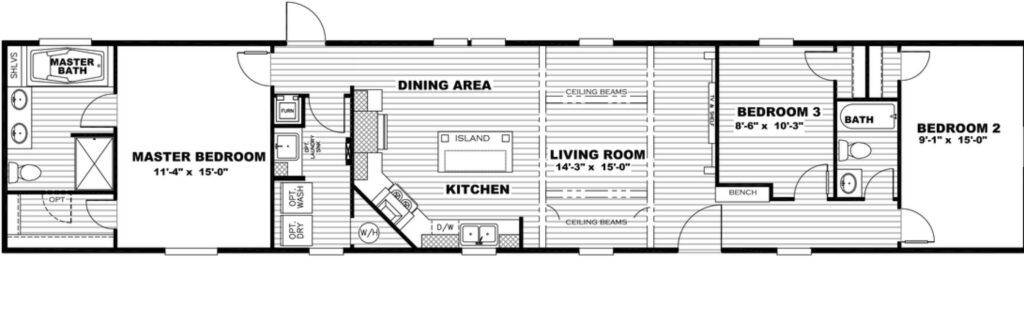 Revolution B Floor Plan 1 scaled In Stock Floor Plans