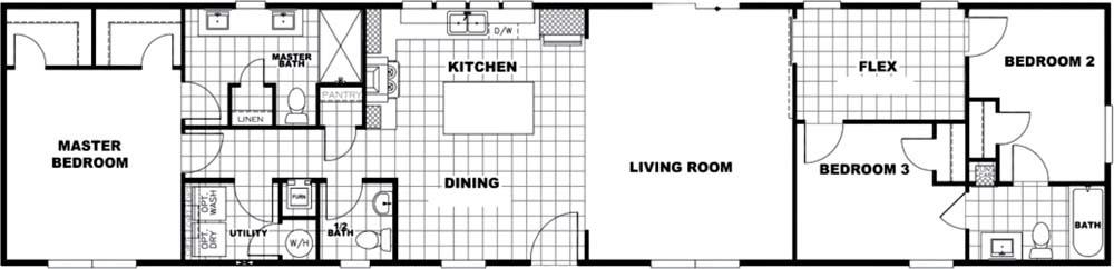 Flex Condo Floor Plan 1 scaled In Stock Floor Plan Redesign
