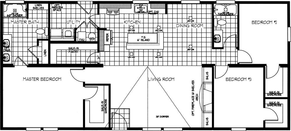 k2760A In Stock Floor Plan Redesign