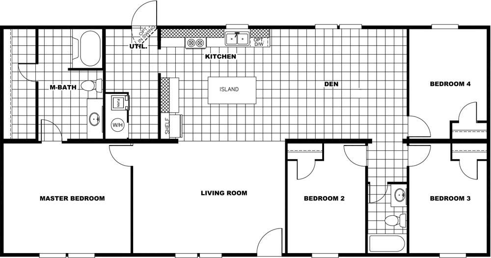 Marvel floorplan In Stock Floor Plan Redesign