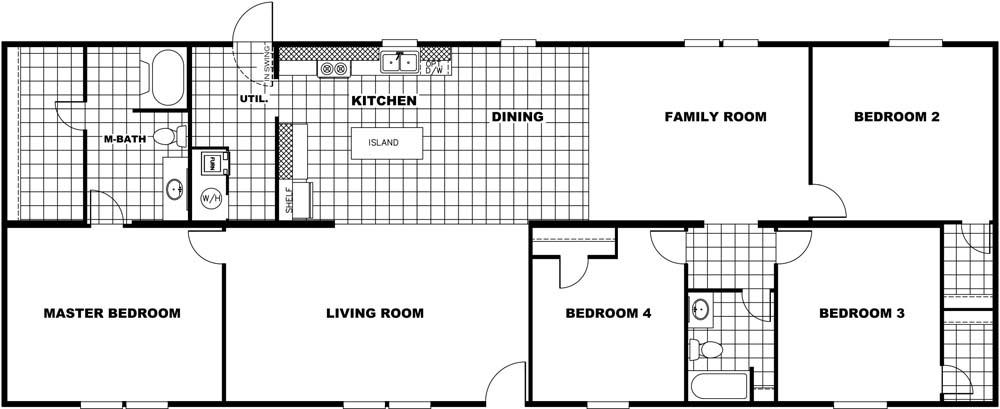 36TRU28724RH In Stock Floor Plan Redesign